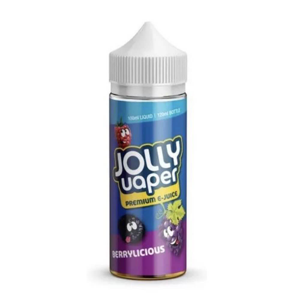 Berrylicious Shortfill 100ml Eliquid by Jolly Vaper