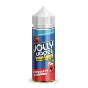 Strawberry Sensation Shortfill 100ml Eliquid by Jolly Vaper