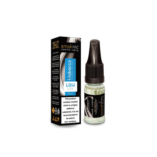 L-Tobacco 10 X 10ml E-Liquid by Smoknic