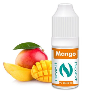Mango 50/50 E-Liquid Nicohit 10 X 10ml - UK Seller