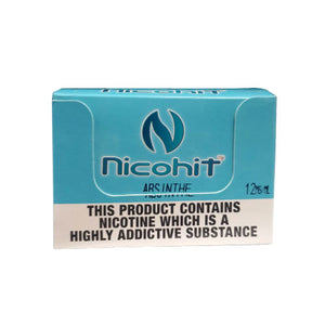 Strawberry 50/50 E-Liquid Nicohit 10 X 10ml
