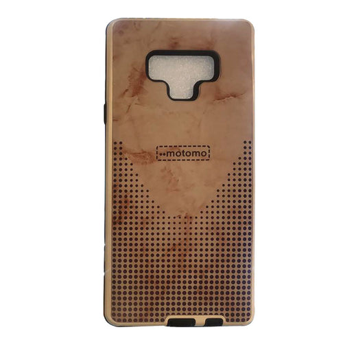 Samsung Galaxy Note 9 Case motomo light Brown
