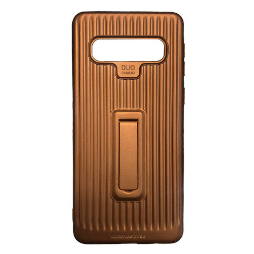 Samsung S10 Mobile Cover - Gold Colour