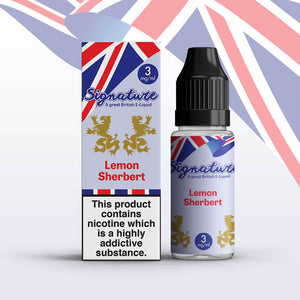 Signature Lemon Sherbert 10ml Eliquid