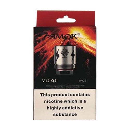SMOK V12 Q4 Coils 0.15 ohm (Pack of 3)