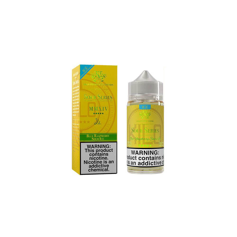 Blue Raspberry Ice E-Liquid by Kilo Sours Series 100ml