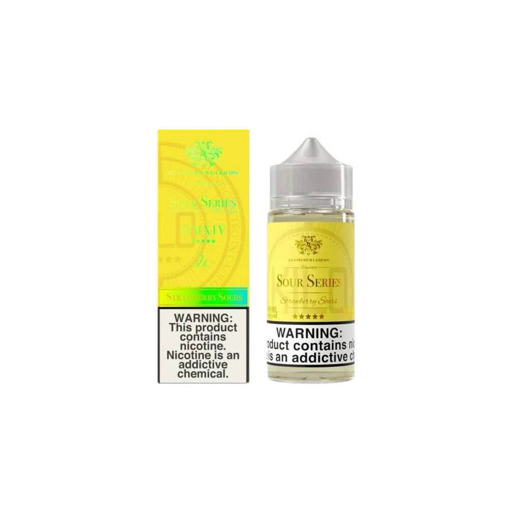 Strawberry 100ml Shortfill E-Liquid by Kilo Sours Series