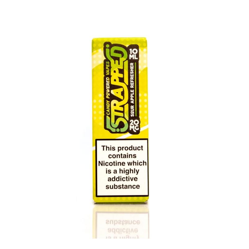 Sour Apple Refresher E-Liquid by Strapped Nic Salt