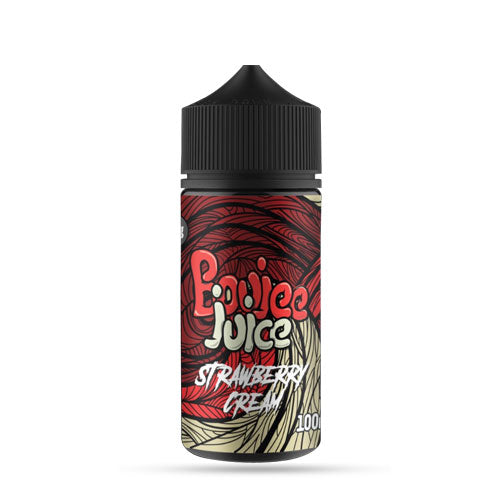 Strawberry Cream 100ml shortfill boujee ejuice
