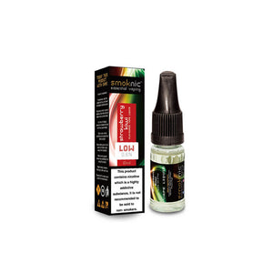 Strawberry Kiwi 10 X 10ml E-Liquid by Smoknic