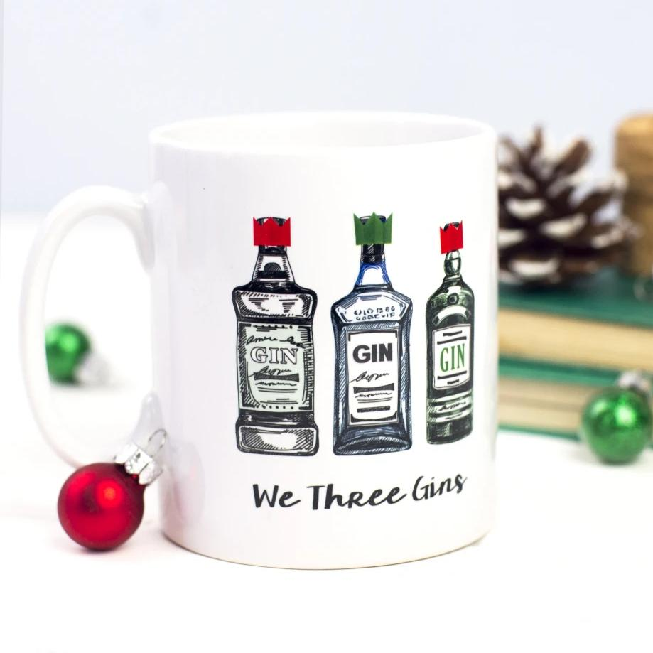 'We Three Gins' Christmas Mug-Of Life & Lemons®