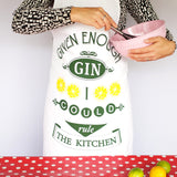 'Given Enough Gin' Apron
