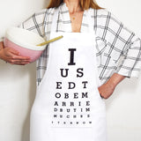 Funny Divorce Apron