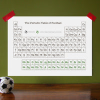 DISCONTINUED - Periodic Table of Football Print-A4 Print-Of Life & Lemons®