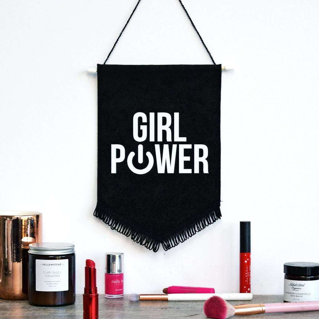 Girl Power Wall Flag-Of Life & Lemons®