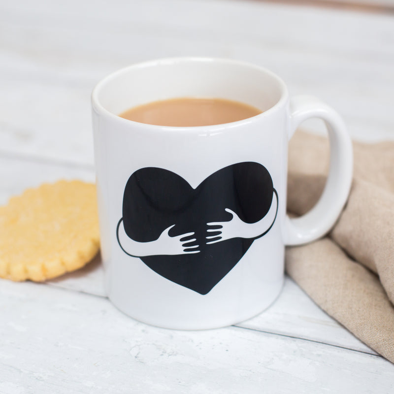 'Hug On A Mug' Personalised Mug Gift