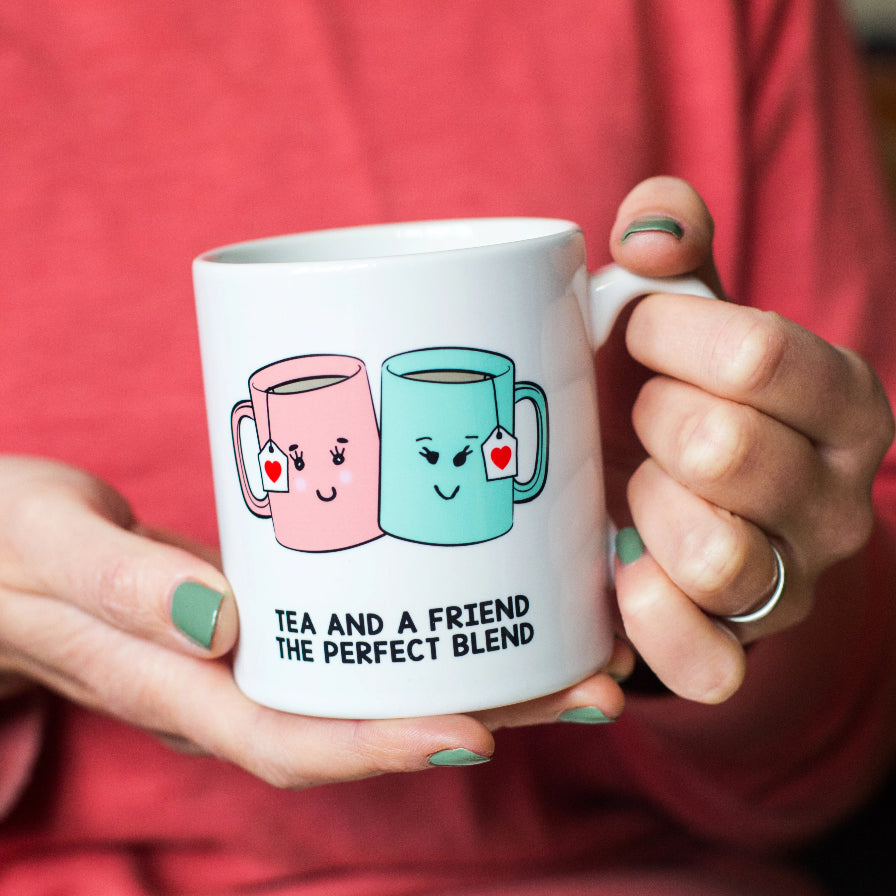 'Tea And A Friend' Mug