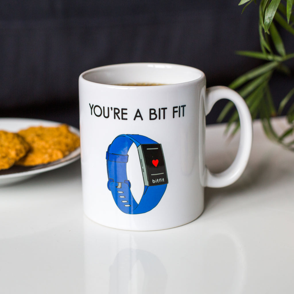 'You're A Bit Fit' Valentine's Mug