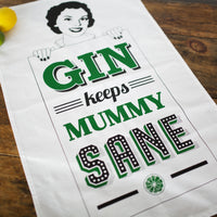 Mummy Gin Tea Towel-Tea Towel-Of Life & Lemons®