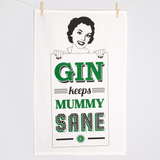 Mummy Gin Tea Towel