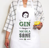 Personalised Gin Apron