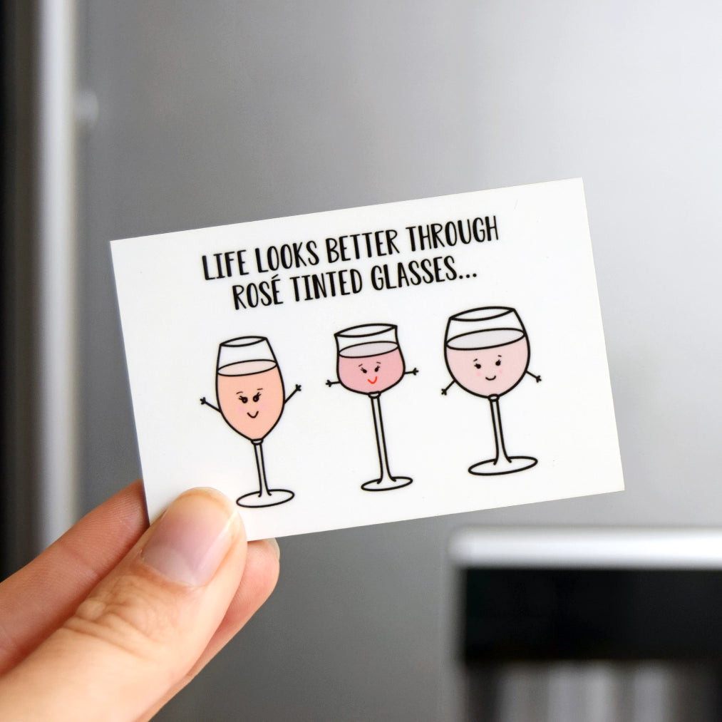 Funny Wine Fridge Magnet-Of Life & Lemons®