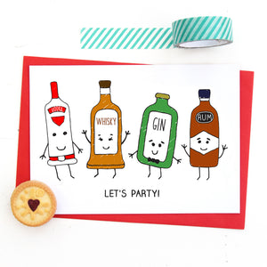 Adult 'Boozy' Party Invitations-Of Life & Lemons®