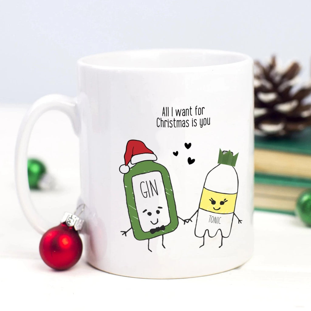 'All I Want for Christmas' Gin Mug-Of Life & Lemons®