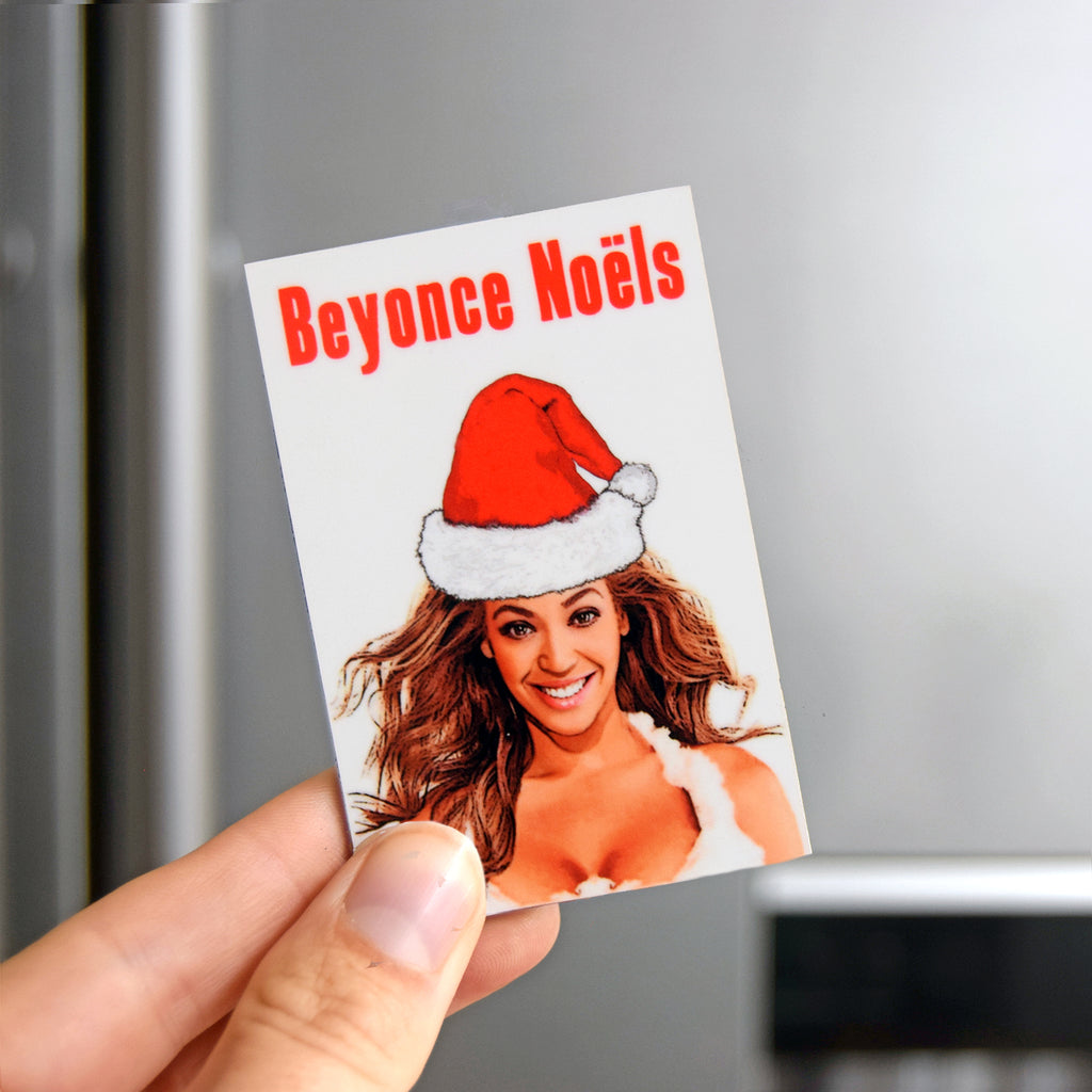 Funny Beyonce Christmas Fridge Magnet-Of Life & Lemons®