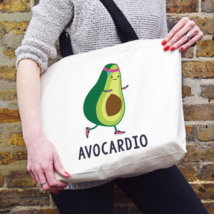 'Avocardio' Funny Gym Bag