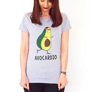 'Avocardio' Funny gym T-shirt