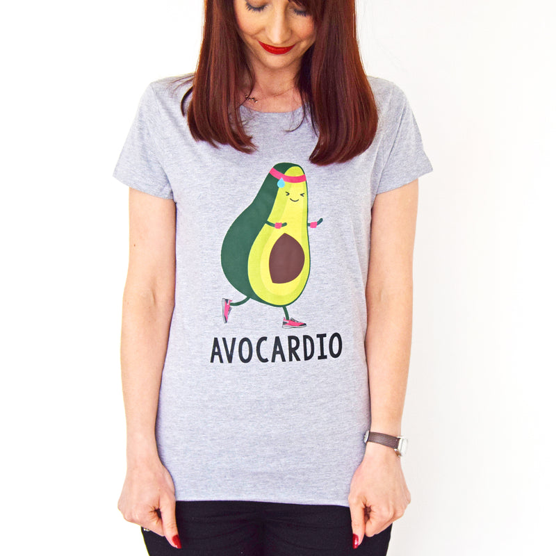 'Avocardio' Funny gym T-shirt-Tote Bag-Of Life & Lemons®