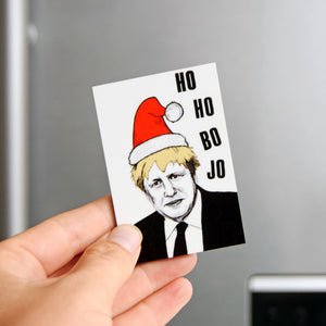 Funny Boris Christmas Fridge Magnet-Of Life & Lemons®