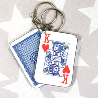 DISCONTINUED - King of Hearts Keyring-Of Life & Lemons®