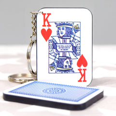 King of Hearts Keyring