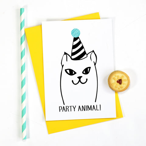 'Party Animal' Invitations
