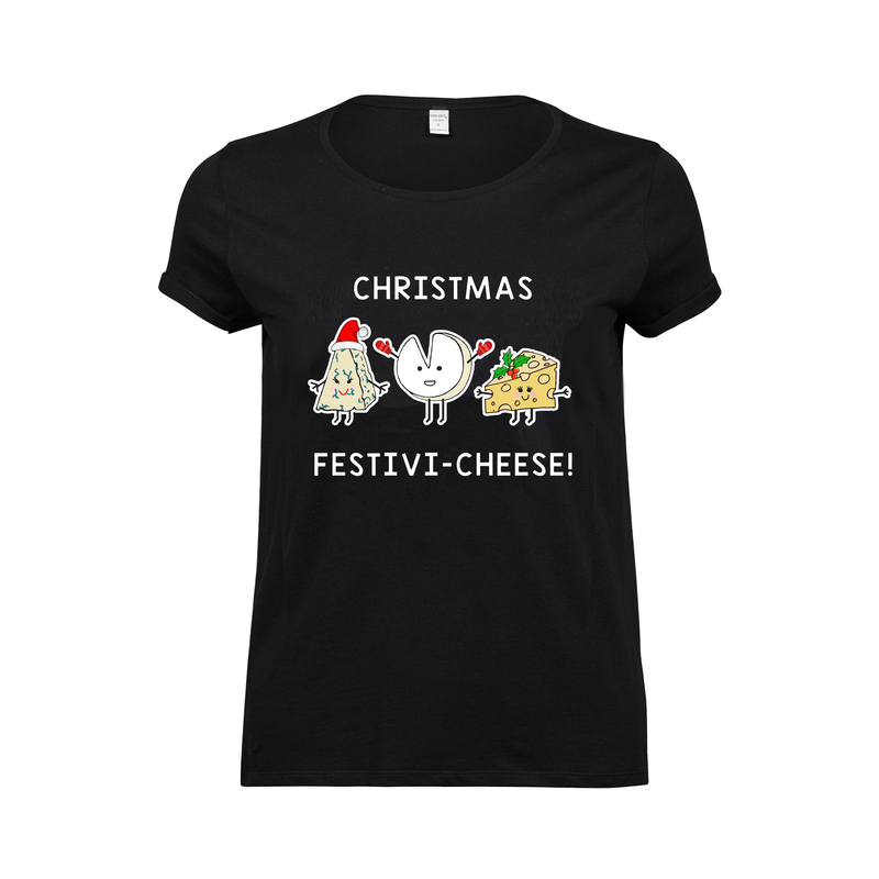 Funny Cheese Christmas T-Shirt-Tote Bag-Of Life & Lemons®