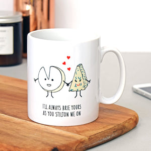 Cheese Lovers Valentine's Mug