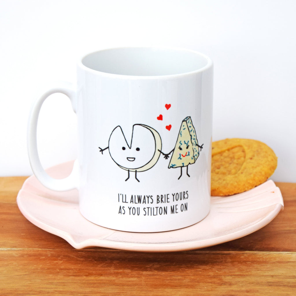 Cheese Lovers Valentine's Mug-Of Life & Lemons®