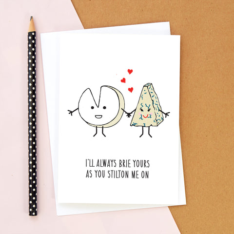 Cheese Lovers Valentine's Card