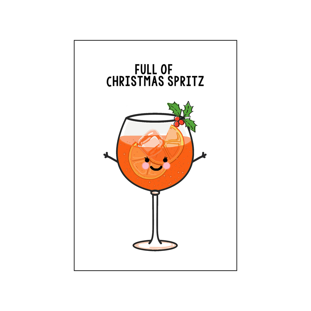 'Christmas Spritz' Funny Christmas Mug-Of Life & Lemons®
