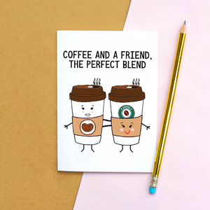 'Coffee and a Friend' Card