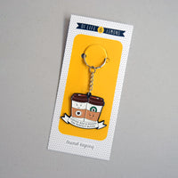 'Coffee and a Friend' Keyring-Of Life & Lemons®