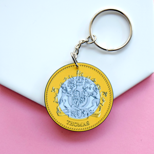 'You Are Priceless' Personalised Coin Keyring-Of Life & Lemons®