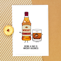 Funny Whisky Father's Day Card