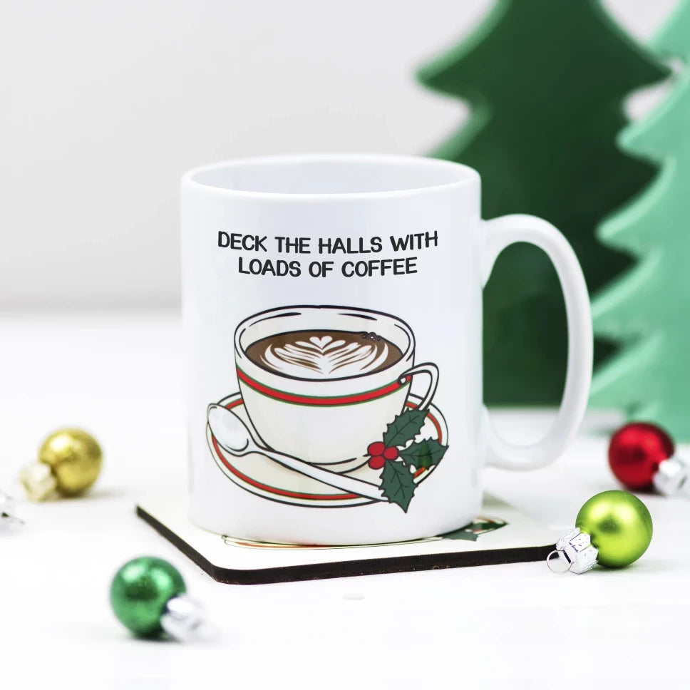 Funny Christmas Coffee Mug-Of Life & Lemons®