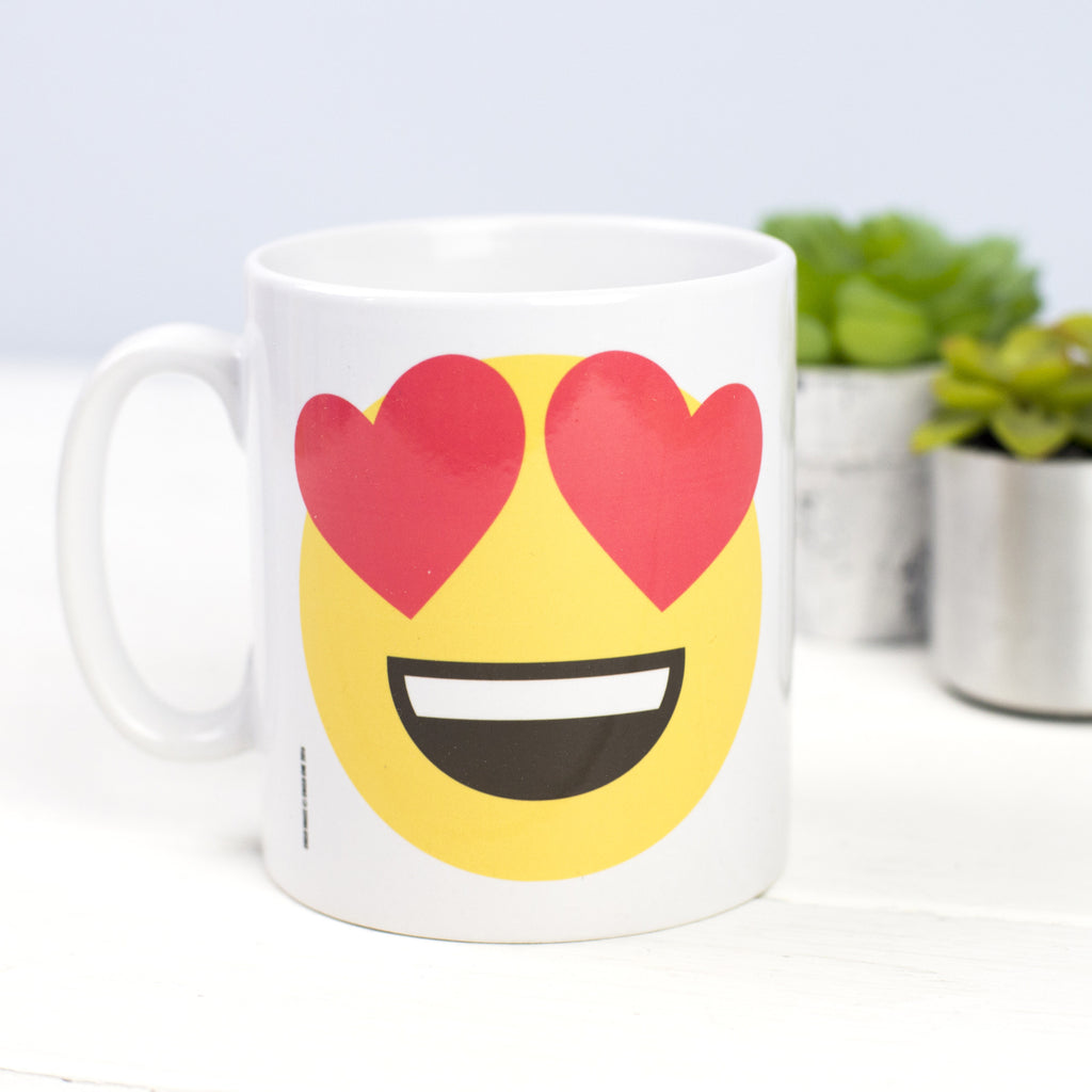 DISCONTINUED - Valentines Emoji Mug-Of Life & Lemons®
