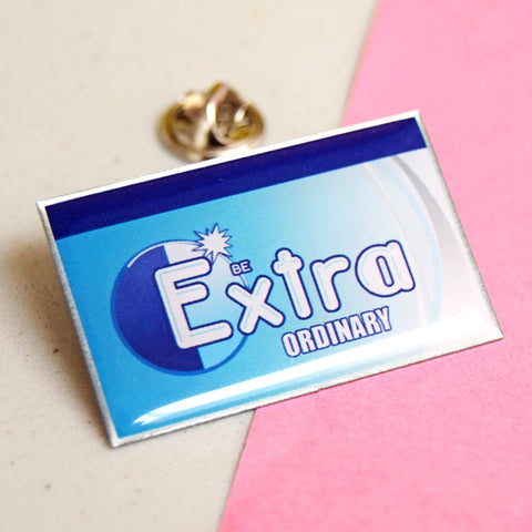 'Be Extraordinary' Pin Badge-Of Life & Lemons®