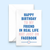 Funny Birthday Card for Friend