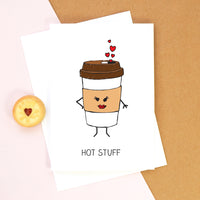 'Hot Stuff' Valentine's Card-Of Life & Lemons®